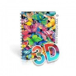 Notebook Colorful Butterflies