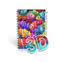 Notebook Colorful Clownfish