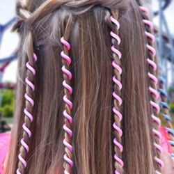 Hair braids complement Twister