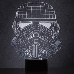 Original Lámpara 2D Storm Trooper Star Wars