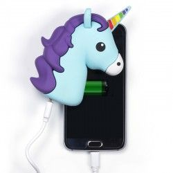 Portable Charger for Mobile with Unicorn Shape