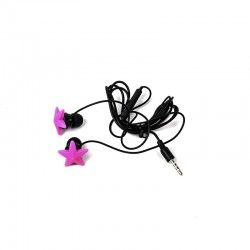 Auriculares LOVE MUSIC Pink Star